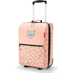 Чемодан детский Reisenthel Trolley XS cats and dogs rose IL3064