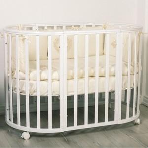 Кроватка трансформер Incanto Amelia 8 в 1 белый KR-0027/0