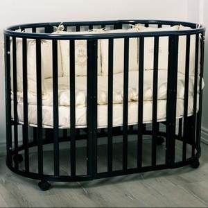 Кроватка трансформер Incanto Amelia 8 в 1 шоколад KR-0027/2 кроватка трансформер incanto amelia 8 в 1 белый kr 0027 0