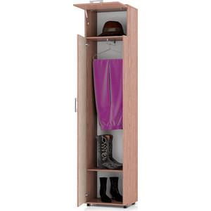 Шкаф Мебельный двор П5 ясень шимо светлый/ясень шимо темный платяной