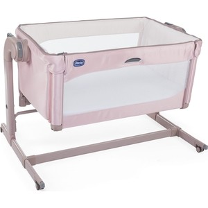 Кроватка Chicco Next2Me Magic Candy Pink 100065