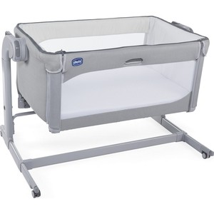 Кроватка Chicco Next2Me Magic Cool Grey 100064