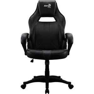 Кресло для геймера Aerocool AC40C air all black кресло для геймера aerocool ac40c air black red черно красное до 125 кг шxдxв 64x67x111 119см газлифт класс 3 до 100 мм механизм бабочка