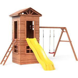 цена на Детская площадка Красная звезда Можга Спортивный городок 8 c узкой лестницей СГ8-Р918