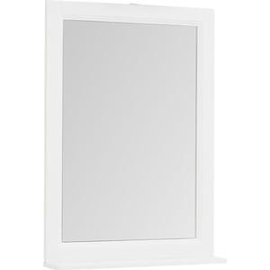 Зеркало с полкой Aquanet Денвер 65,4 белый (199212)