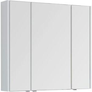 купить Зеркальный шкаф Aquanet Августа 100 белый (210005) дешево