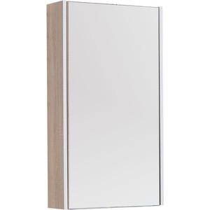 Зеркальный шкаф Aquanet Августа 50 дуб сонома (210049)