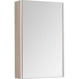 Зеркальный шкаф Aquanet Августа 58 дуб сонома (210009)
