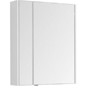 цена на Зеркальный шкаф Aquanet Августа 75 белый (210010)