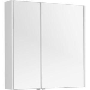 Зеркальный шкаф Aquanet Августа 90 белый (210013)