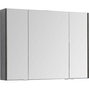 Зеркало-шкаф Aquanet Остин 105 дуб кантербери/белый (200911)