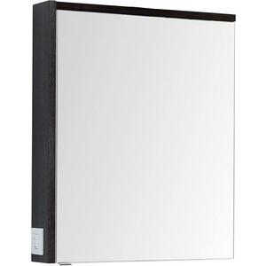 Зеркальный шкаф Aquanet Фостер 70 эвкалипт мистери/белый (202061)