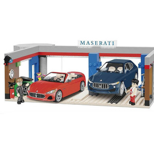Конструктор COBI Maserati Garage Set