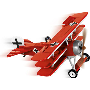 Конструктор COBI Самолет Fokker Dr.1 Red Baron