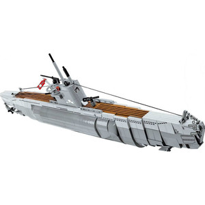 Конструктор COBI U-boot U-48 VII B the floating island