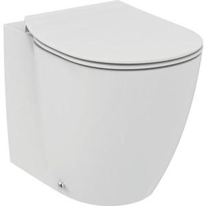 Унитаз приставной Ideal Standard Connect Aquablade с тонким сиденьем микролифт (E052401, E772401)