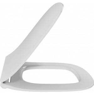 Сиденье для унитаза Jacob Delafon Struktura с микролифтом, тонкое, быстросъемное (E70025-00)