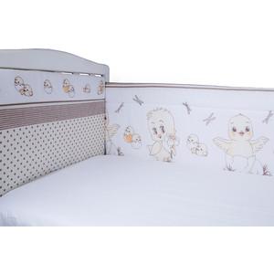 Бортик в кроватку BamBola Цыплята бязь 104