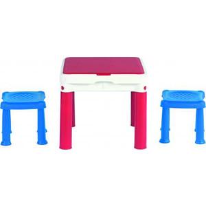 Игровой стол Keter 2 стула (50.5x50.5x44.5h) 17201603 цена