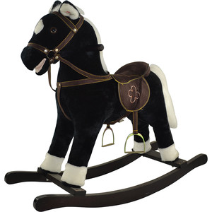 Качалка лошадка Pituso Fandango черный 74x30x64 см gs2033