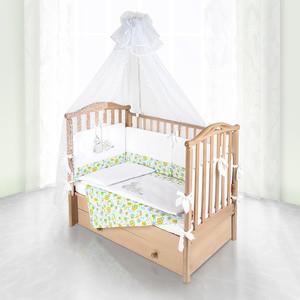 Комплект в кроватку Pituso Пчелки 6пр желтый 120x60 p01y1
