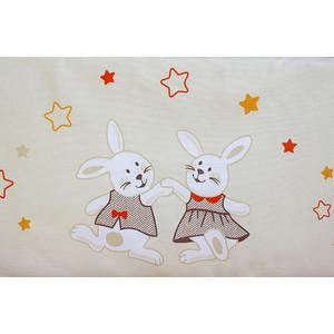 Комплект детского постельного белья Pituso Зайки кремовый (зб 301)