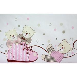 Комплект детского постельного белья Pituso Мишки розовый (мр 302)