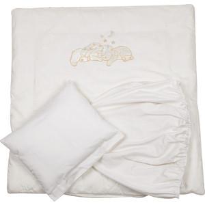Комплект для круглой кроватки Pituso 5 пр Звездочка кремовый 507