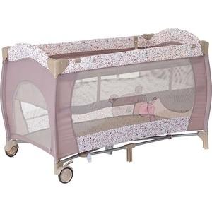 Манеж кровать Pituso Granada дружба 2-уровневый 120x60 p613lb