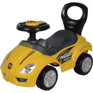 Машина каталка Chilok BO Машинка мега 3-6 лет желтый 382a