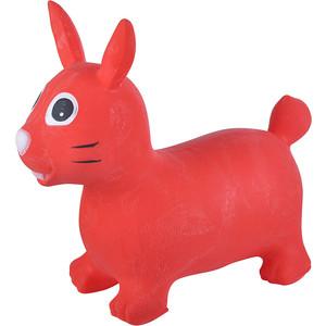 Прыгуны животные Spring Зайка pvc с насосом 62x30x50 см красный 19