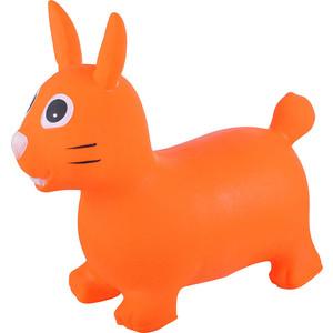 Прыгуны животные Spring Зайка pvc с насосом 62x30x50 см оранжевый 22