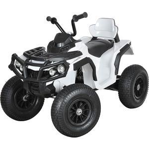 Электроквадроцикл Zhencheng 12v/10ah 35w*2 надувные колеса белый bdm-0906