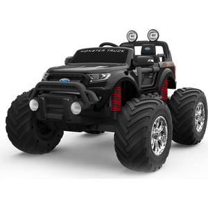 Электромобиль FORD Ford Ranger Monster Truck 2*12v/7ah черный dk-mt550