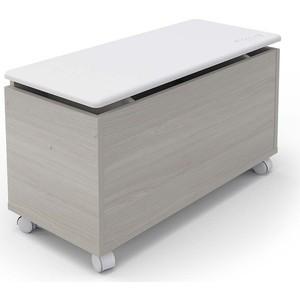 Ящик универсальный Pituso Buggy ясень шимо светлый-белый