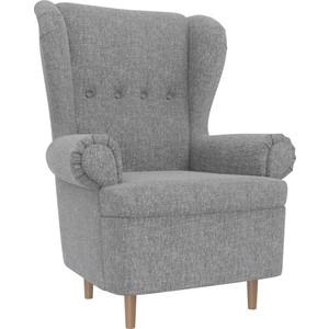 Кресло АртМебель Торин рогожка серый торин в амальгама 2 тантамареска