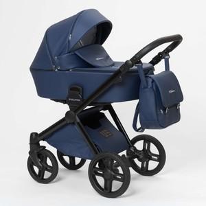 Коляска 3 в 1 Mr Sandman Evolution Ecco 100% Эко кожа Синий коляска mr sandman guardian 2 в 1 фиолетовый kmsg 043614
