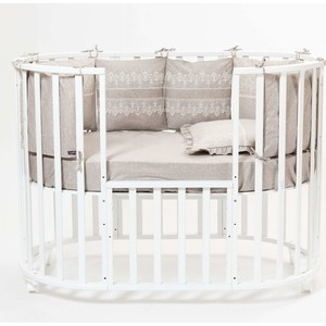 Комплект в кроватку Mr Sandman 4 предмета Triumph Mocco