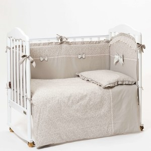 цена Комплект в кроватку Mr Sandman 6 предметов Triumph Mocco онлайн в 2017 году
