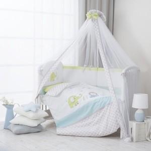 Комплект в кроватку Perina Джунгли 4 предмета Джунгли комплект в кроватку 7 предметов perina венеция лапушки голубой в7 02 4