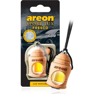 Ароматизатор автомобильный Areon FRESCO Золото Gold kitchen plastic pineapple style bread mold coffee
