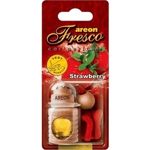 Ароматизатор автомобильный Areon FRESCO Клубника Strawberry