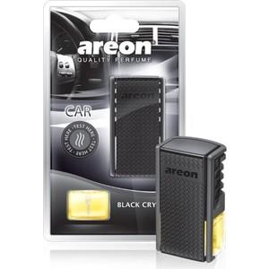 Ароматизатор автомобильный Areon CAR BLISTER Черный кристал Black Crystal