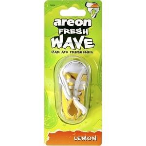 Ароматизатор автомобильный Areon FRESH WAVE Лимон Lemon ароматизатор автомобильный paloma happy bag lemon