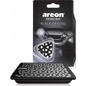 Ароматизатор автомобильный Areon AROMA BOX Черный кристал Black Crystal