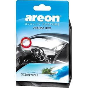 Ароматизатор автомобильный Areon AROMA BOX Ветер океана Ocean Wind