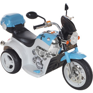 Электромобиль AIM BEST MD-1188, 6V/4Ahx1, колеса пластик 90х43х54 см, Бело-Голубой (УТ000047508)