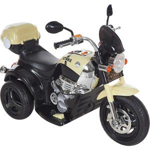 Электромобиль AIM BEST MD-1188, 6V/4Ahx1, колеса пластик 90х43х54 см, Черно-Бежевый (УТ000047507)