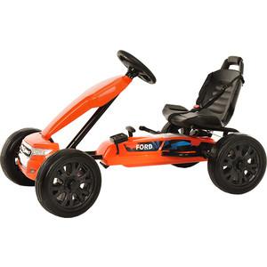 Электромобиль Dake FORD (3-8 лет) оранжевый (113х66х68) (УТ000060649)