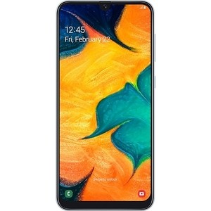 Смартфон Samsung Galaxy A30 4/64GB White смартфон samsung galaxy s8 sm g950f 64gb жёлтый топаз